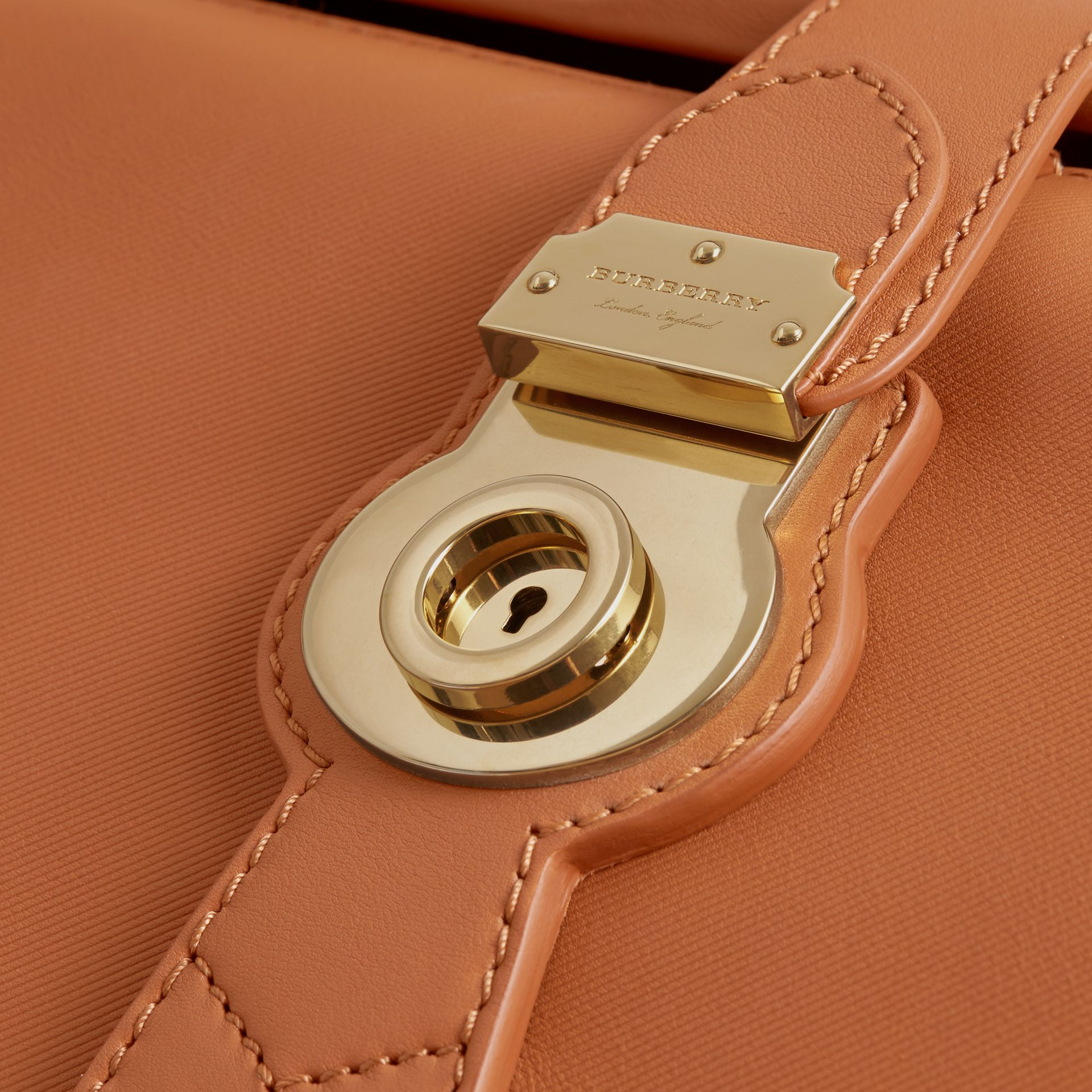 The DK88 Bowling Bag in Bright Toffee - Women | Burberry - gallery image 2
