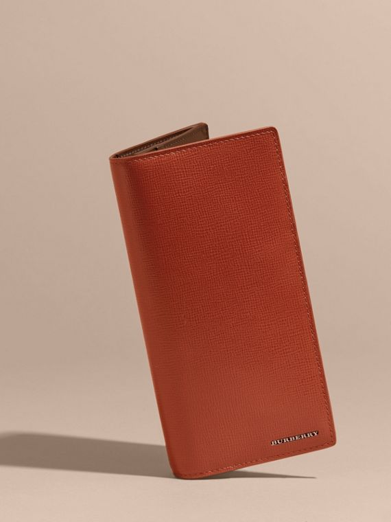 London Leather Continental Wallet Burnt Sienna - cell image 2