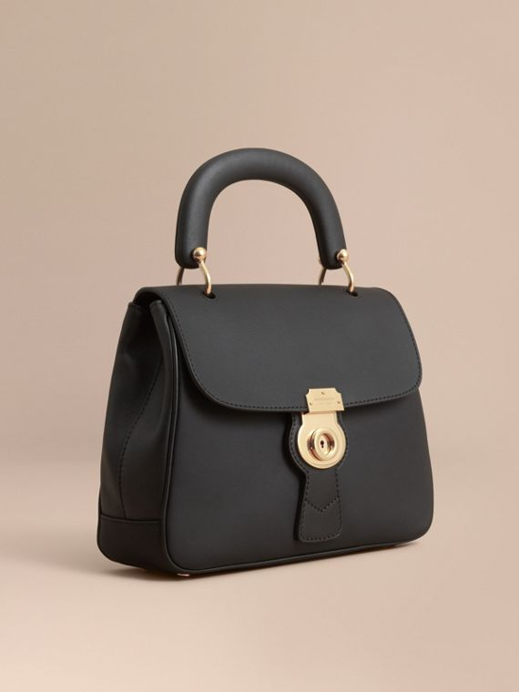 The Medium DK88 Top Handle Bag Black