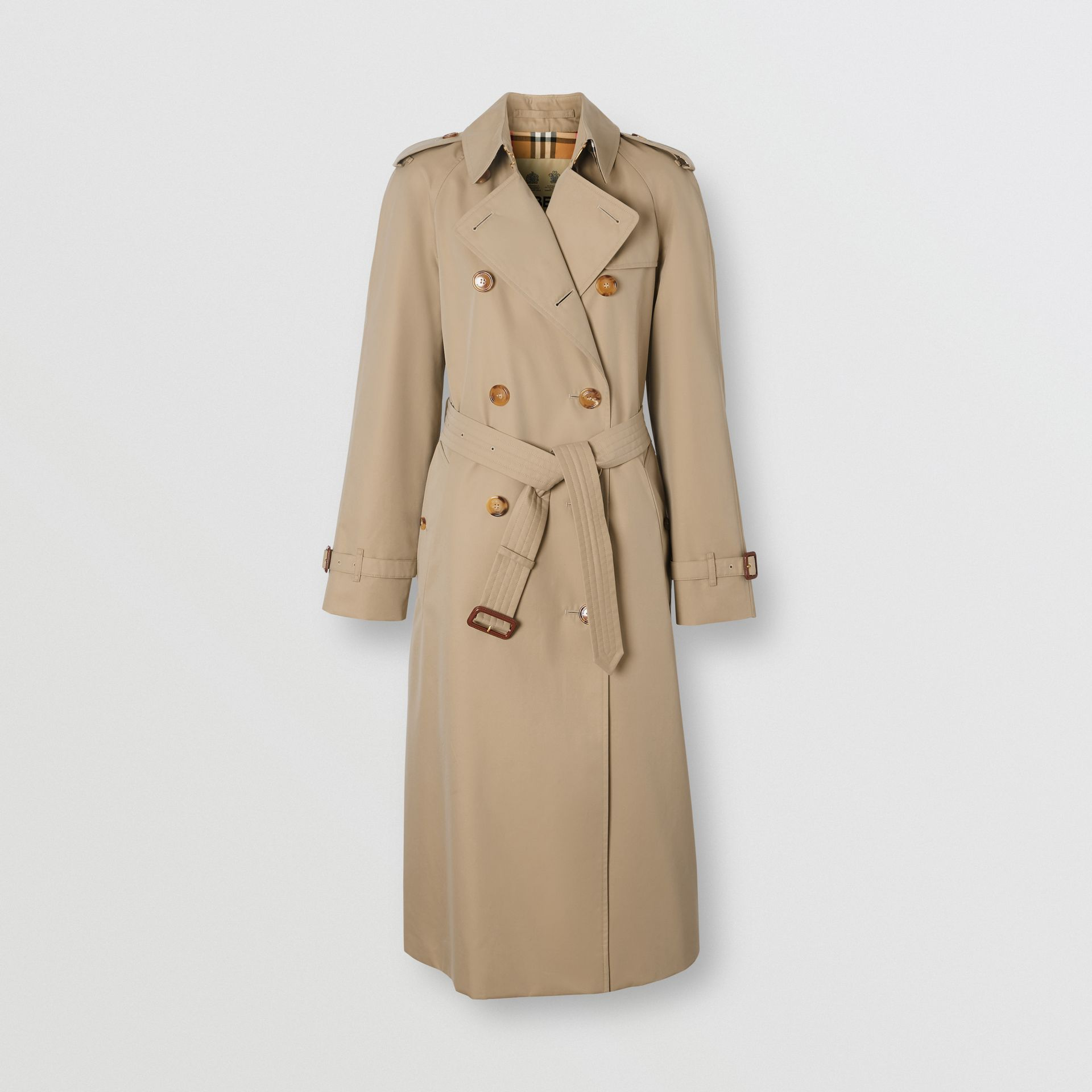 Trench coat Heritage The Waterloo (Miele) - Donna | Burberry - immagine della galleria 3