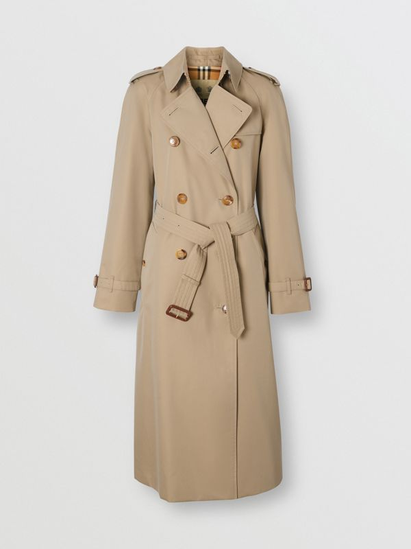 The Waterloo Heritage Trench Coat in Honey - Women | Burberry - cell image 3