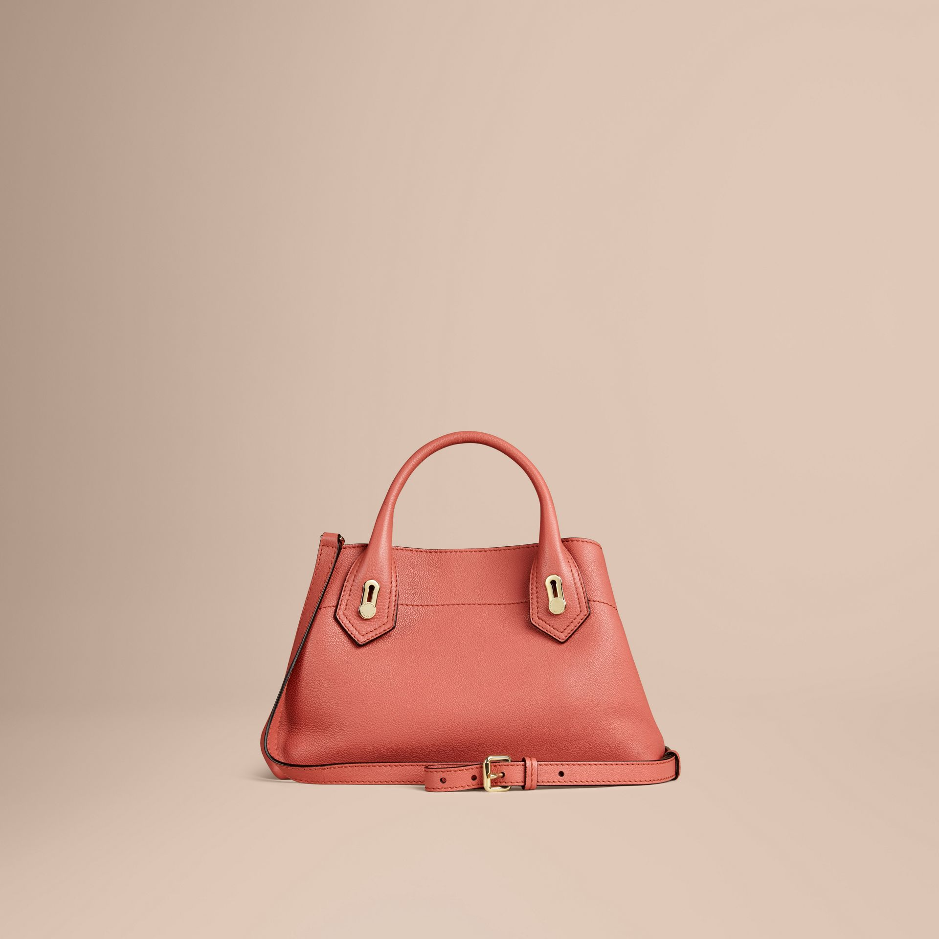 Copper pink The Small Milton in Grainy Leather Copper Pink - gallery image 4