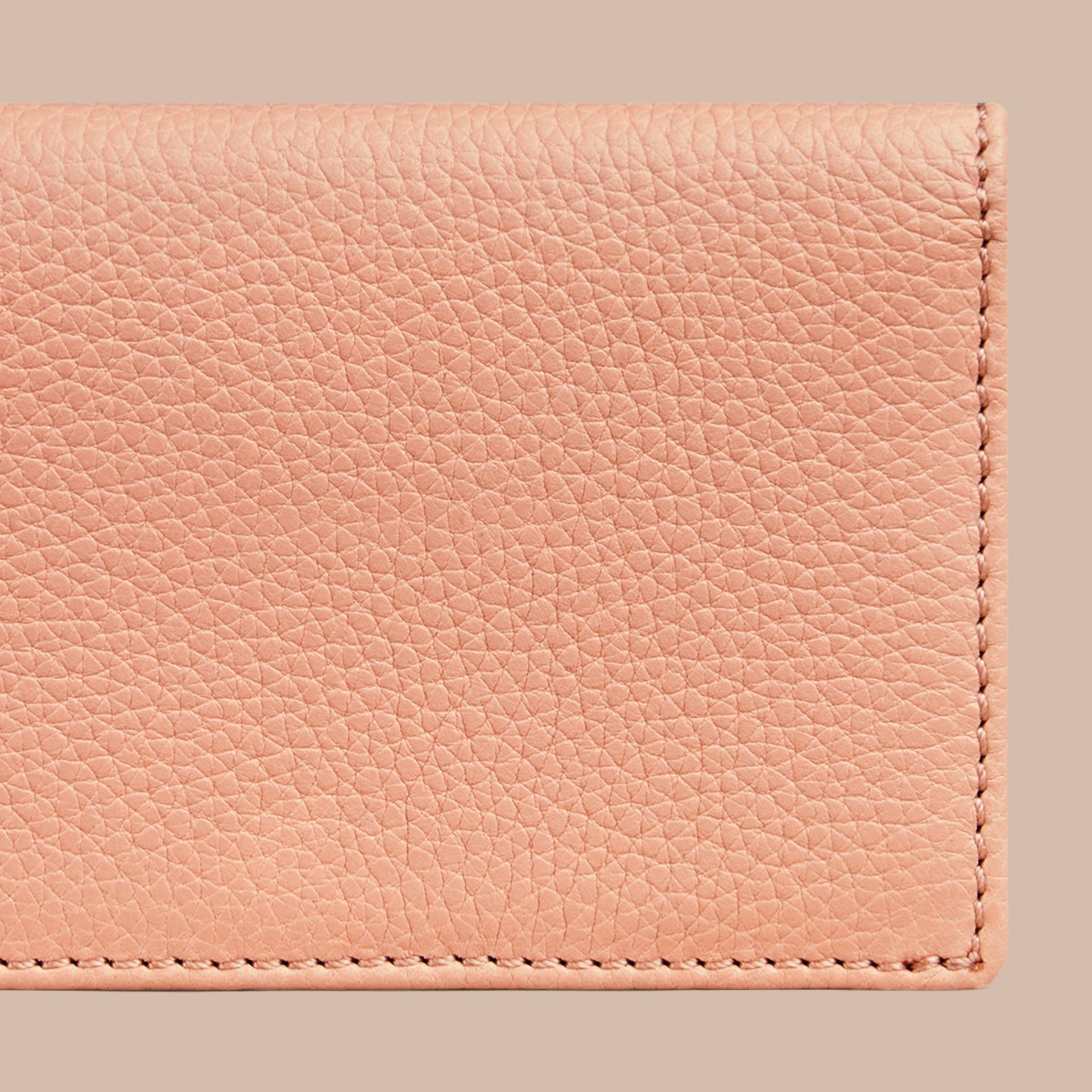 Pink apricot Grainy Leather Card Case Pink Apricot - gallery image 2
