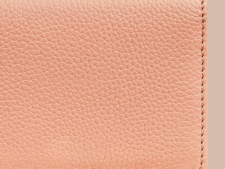 Pink apricot Grainy Leather Card Case Pink Apricot - cell image 1
