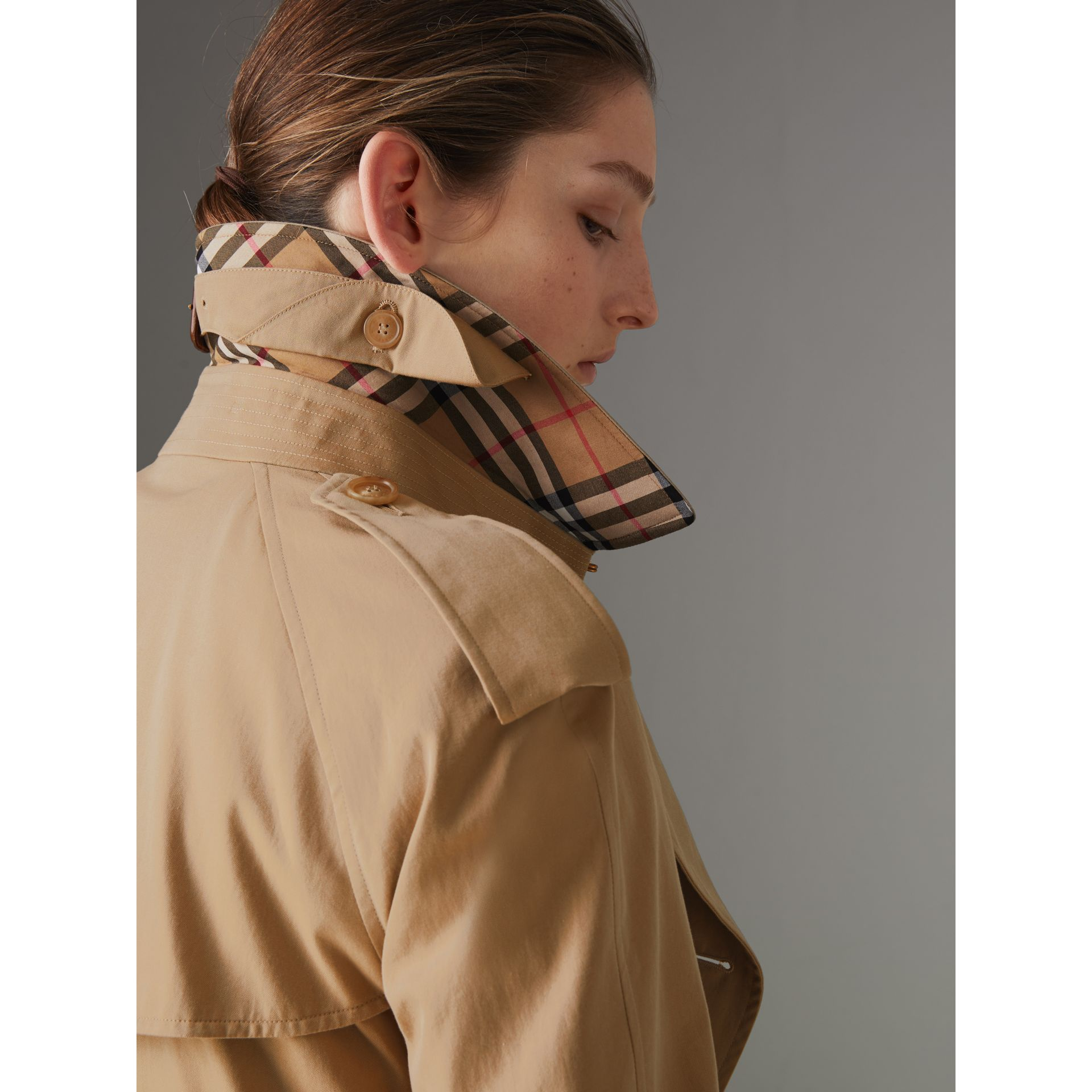 The Westminster Heritage Trench Coat in Honey - Women | Burberry - gallery image 1
