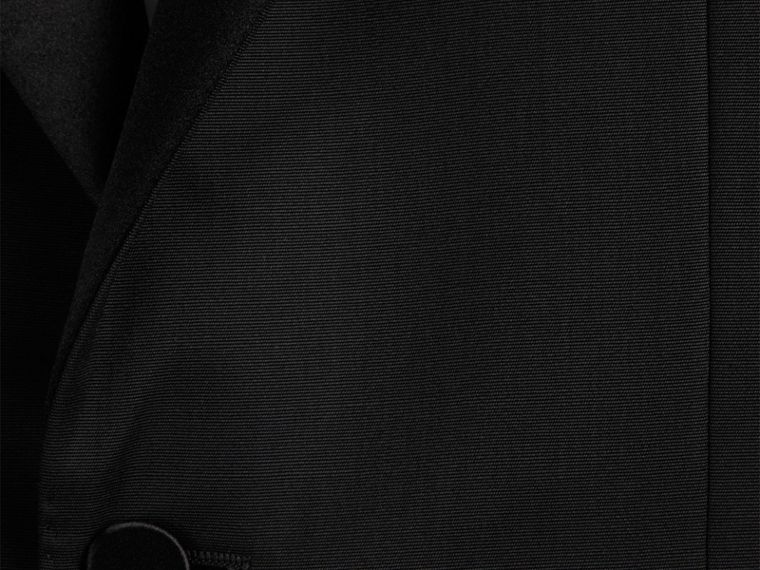 Black Wool Tuxedo Jacket - cell image 1
