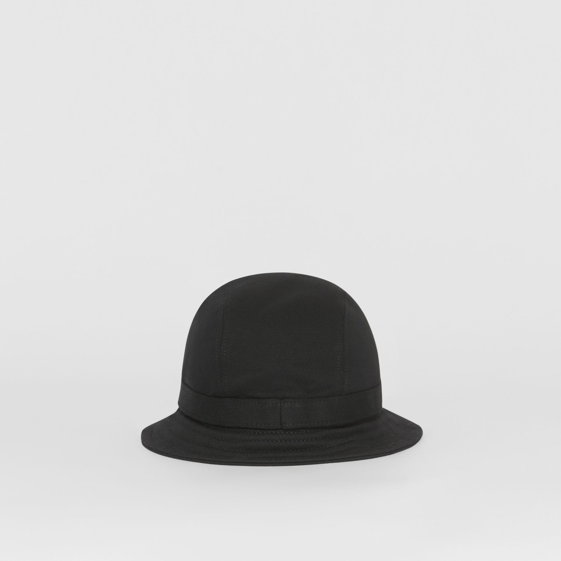 Logo Detail Bucket Hat in Black | Burberry - gallery image 6