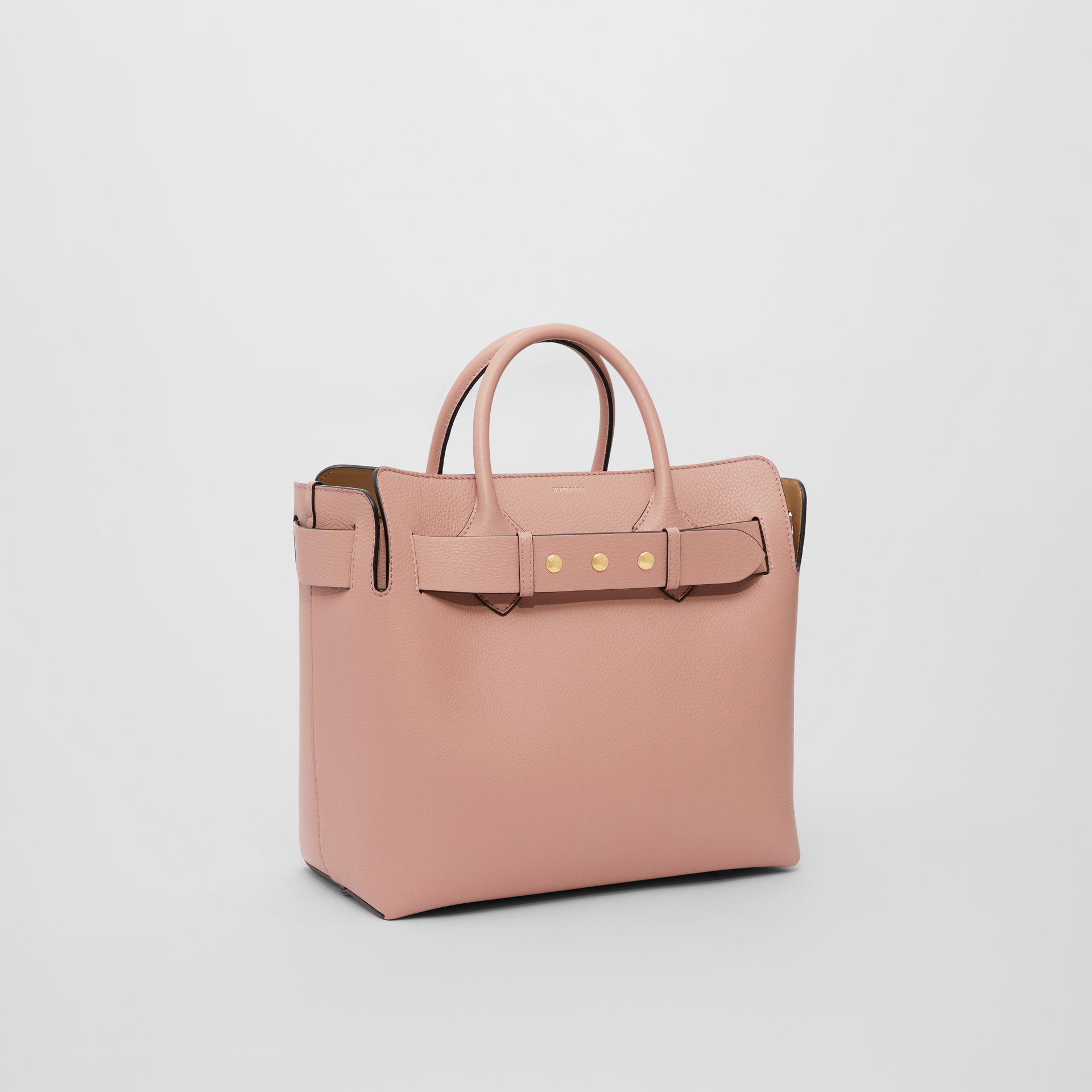The Medium Leather Triple Stud Belt Bag in Ash Rose - Women | Burberry United States - gallery image 4