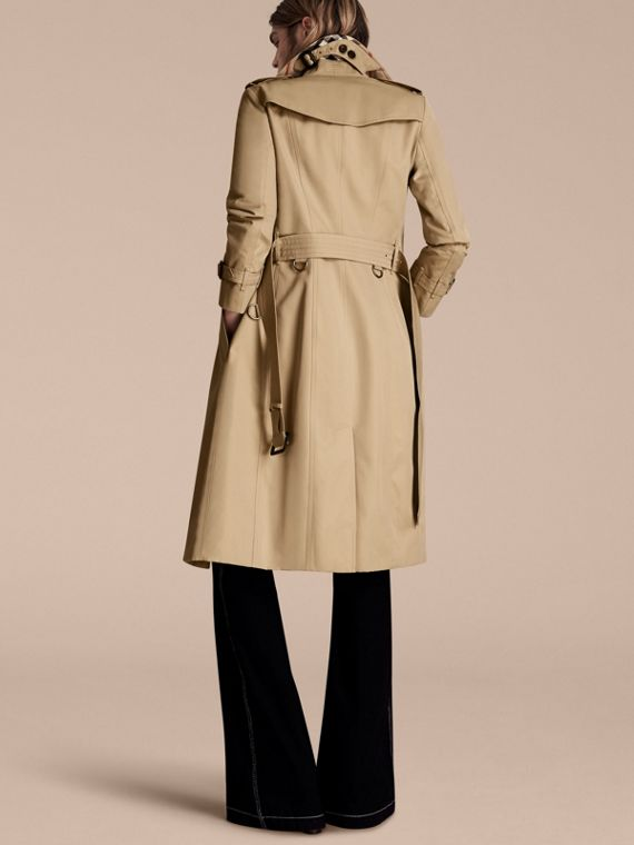Honey The Sandringham – Extra-long Heritage Trench Coat Honey - cell image 2