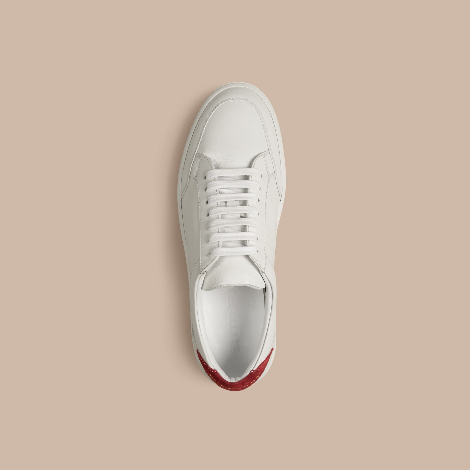 Cherry Leather Sneakers - gallery image 4