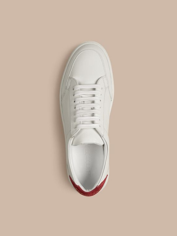 Cherry Leather Sneakers - cell image 3