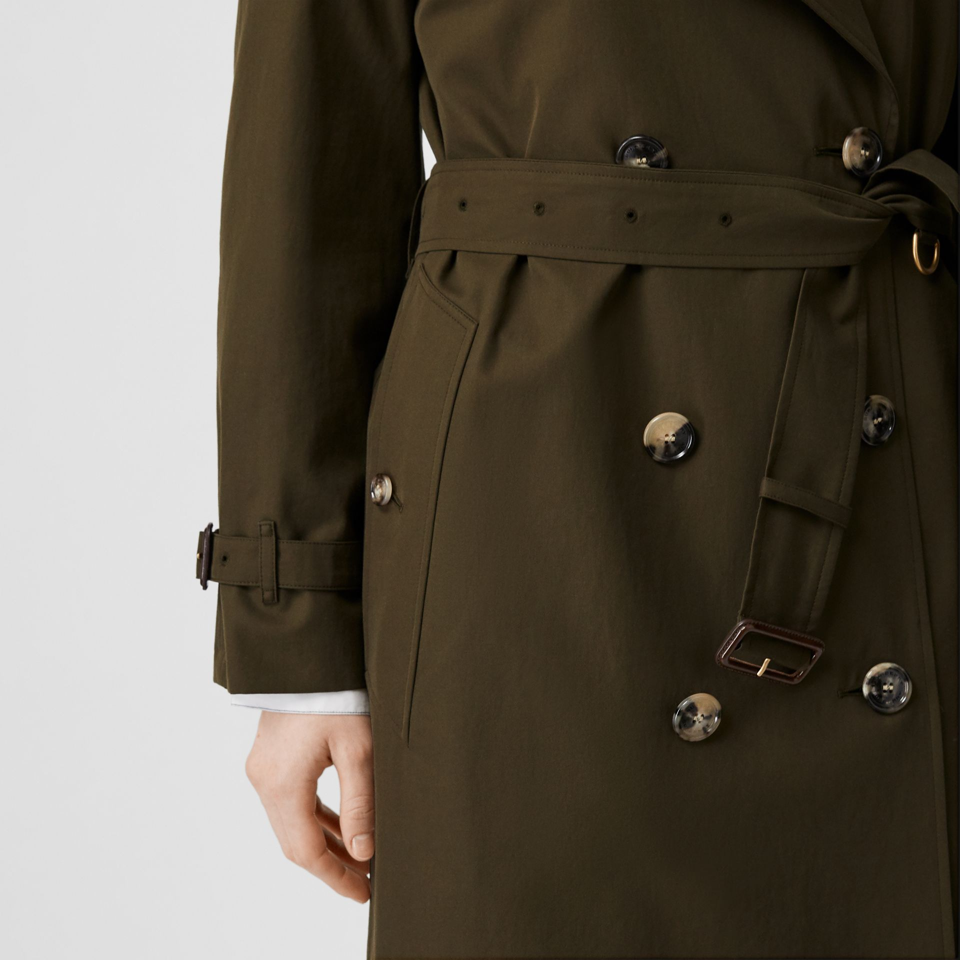 The Westminster – Trench Heritage (Kaki Militaire Foncé) - Femme | Burberry Canada - photo de la galerie 5