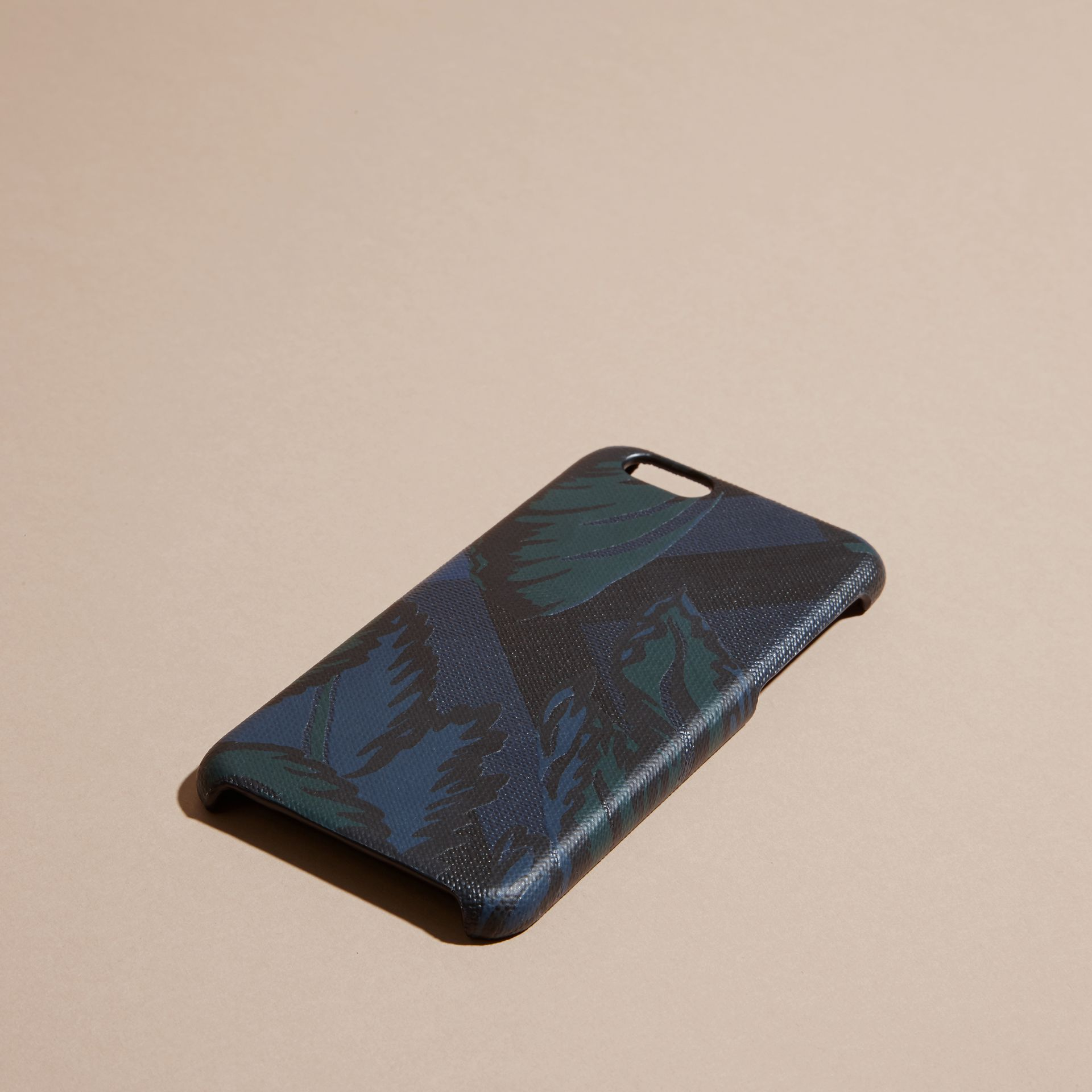 Floral Print London Check iPhone 6 Case - gallery image 3
