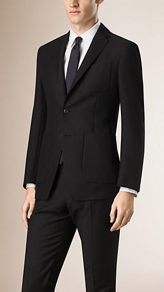 Modern Fit Unlined Mohair Wool Blazer