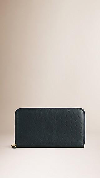 Ostrich Ziparound Wallet