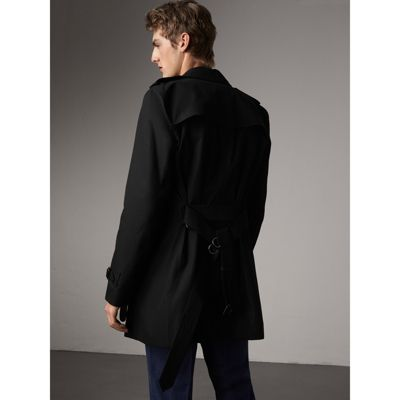 the kensington � midlength trench coat in black men