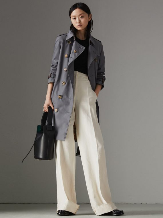 Trench coat Heritage The Kensington (Grigio Medio)