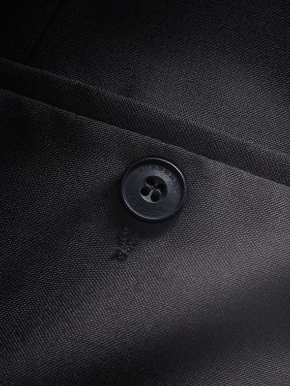 Modern Fit Wool Trousers in Black - Men | Burberry Hong Kong - cell image 3