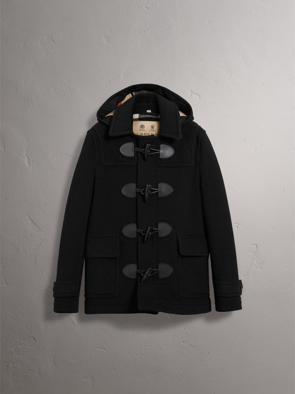 The Plymouth Dufflecoat (Schwarz) - Herren | Burberry - cell image 3