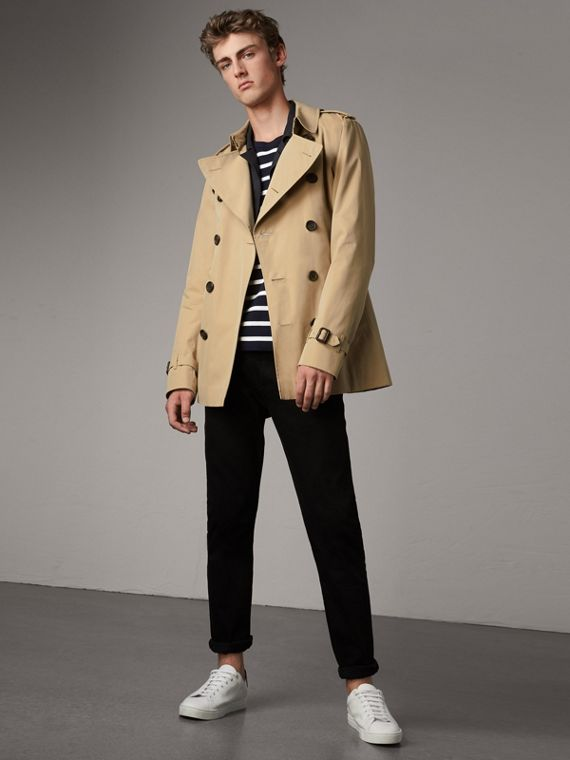 The Kensington - Trench coat corto (Miele)