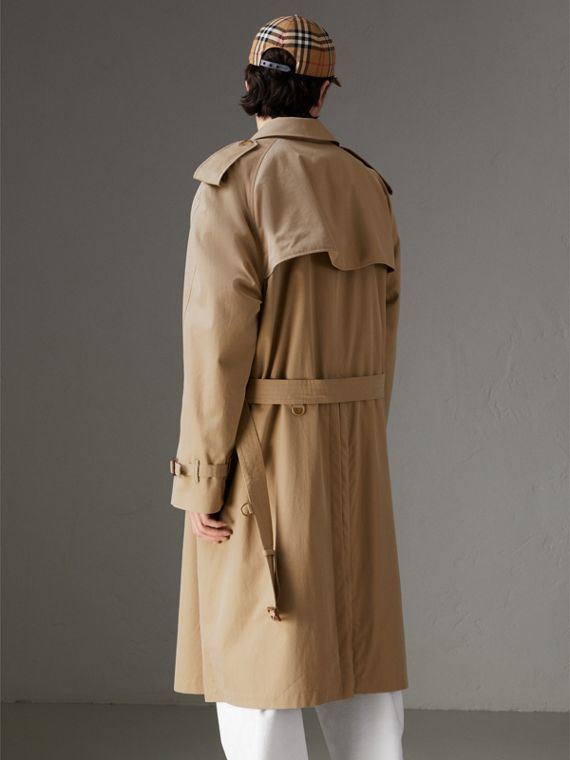 Tropical Gabardine Trench Coat in Honey | Burberry United States - cell image 2