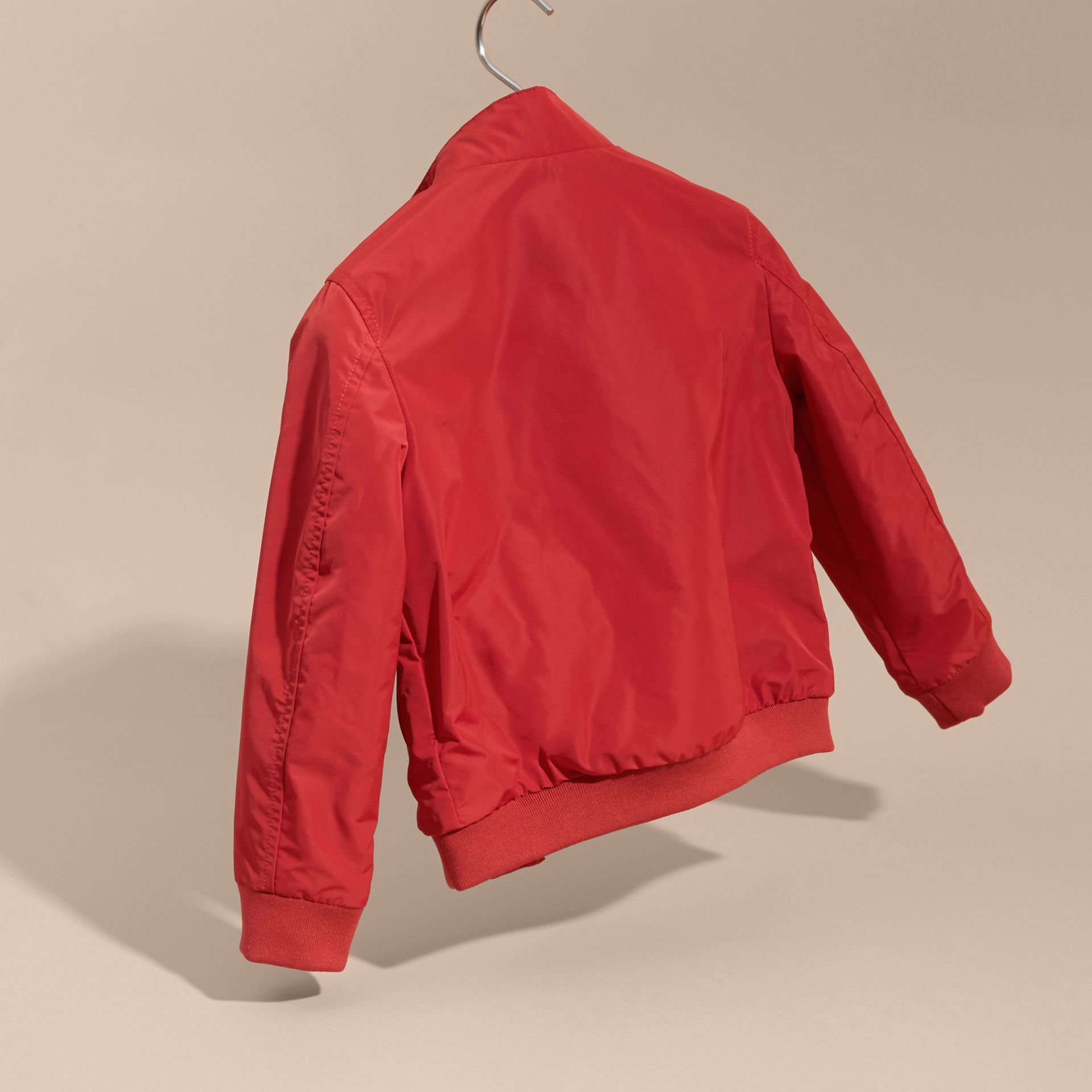 Packaway Blouson in Military Red - Boy | Burberry Australia - gallery image 4