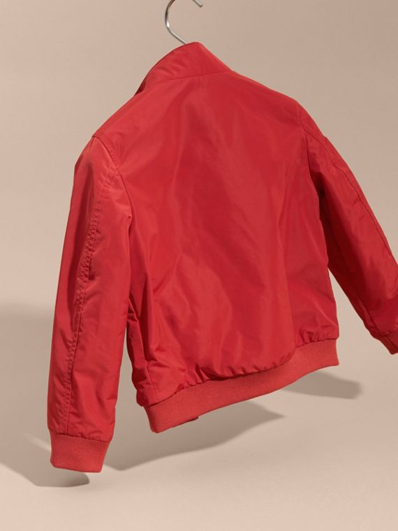 Packaway Blouson in Military Red - Boy | Burberry - cell image 3