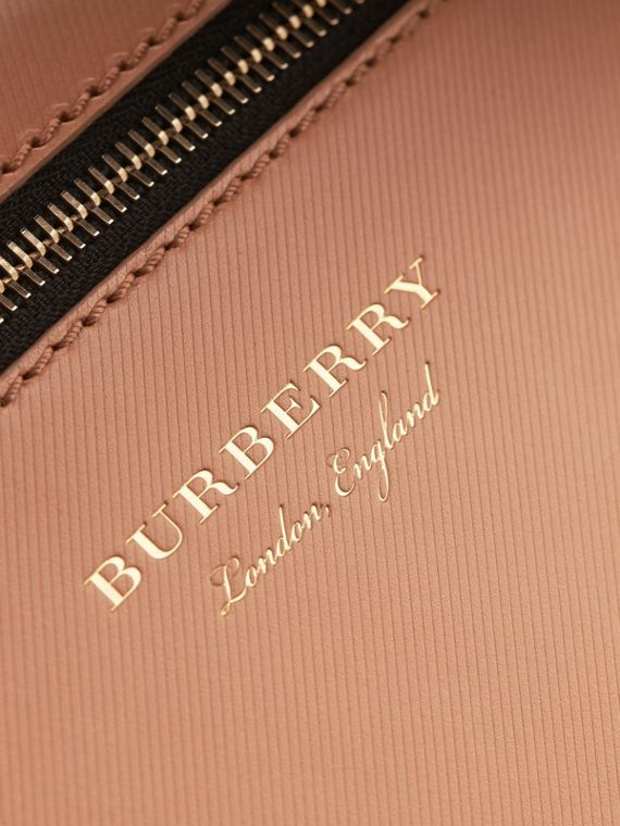 The Small DK88 Satchel with Alligator in Pale Clementine - Men | Burberry - cell image 3