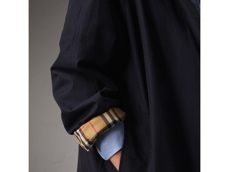 The Camden Car Coat in Blue Carbon - Women | Burberry Singapore - cell image 4