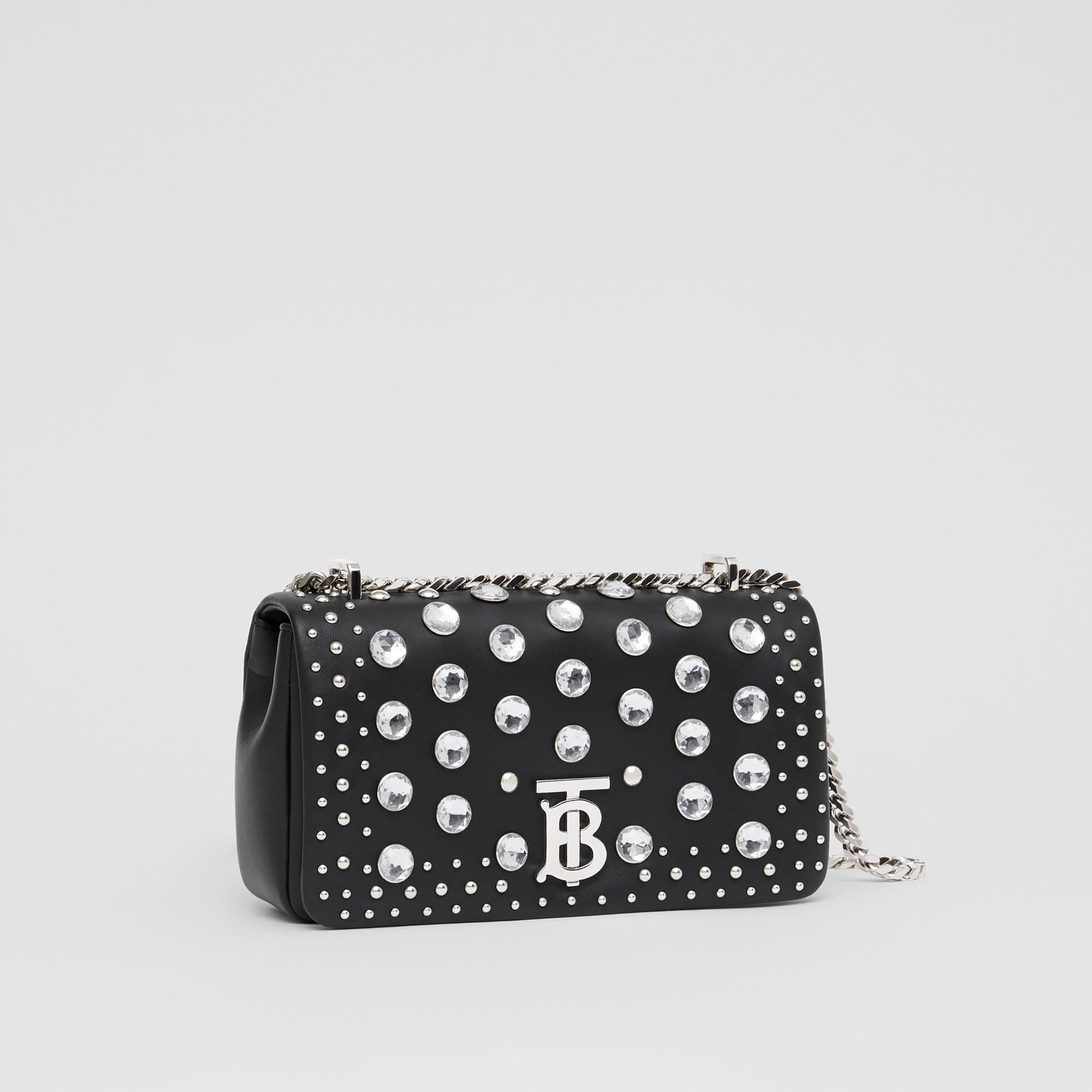Small Embellished Lambskin Lola Bag in Black - Women | Burberry - gallery image 6
