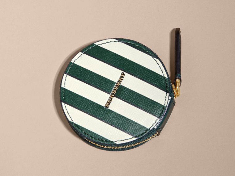 Pyjama Stripe London Leather Coin Case - cell image 4