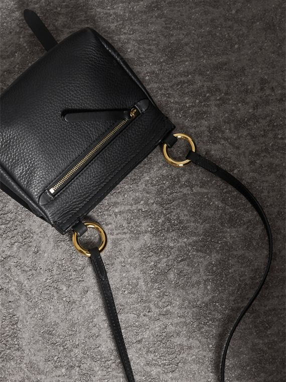 The Baby Bridle Bag in Leather in Black - Women | Burberry - cell image 3