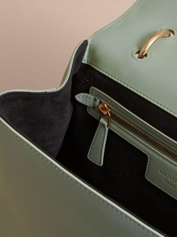 The Medium DK88 Top Handle Bag in Celadon Green - Women | Burberry - cell image 3