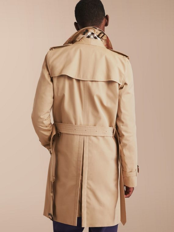 The Kensington – Long Heritage Trench Coat in Honey - Men | Burberry - cell image 2