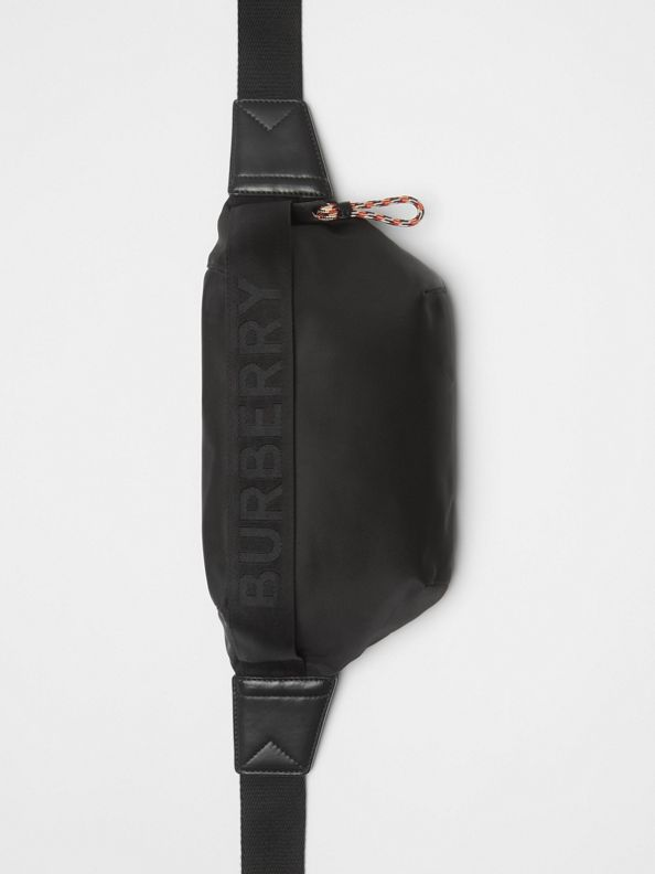 Medium Logo Bum Bag in Black