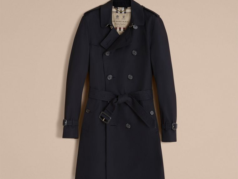 Marine The Sandringham – Trench-coat Heritage long Marine - cell image 4