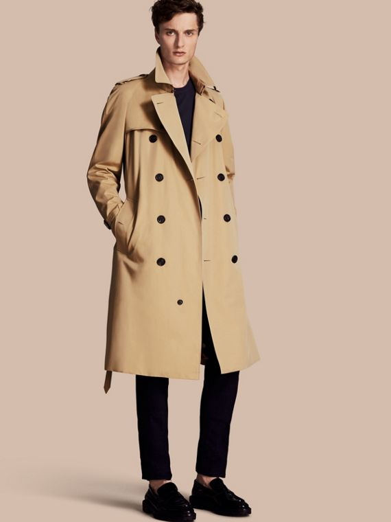 Trench coat Westminster - Trench coat Heritage largo Miel