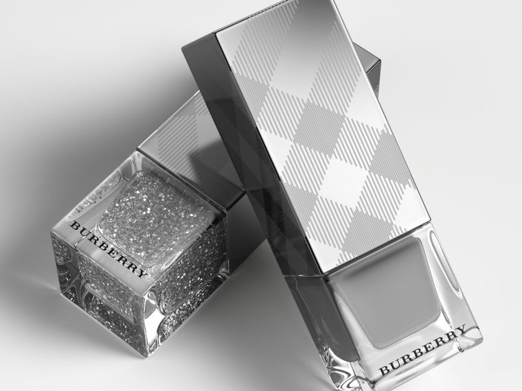 Nail Polish – Silver Glitter No.453 - Women | Burberry - cell image 2
