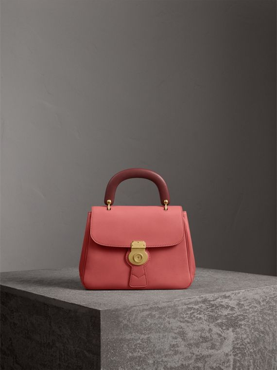 The Medium DK88 Top Handle Bag in Blossom Pink - Women | Burberry Canada