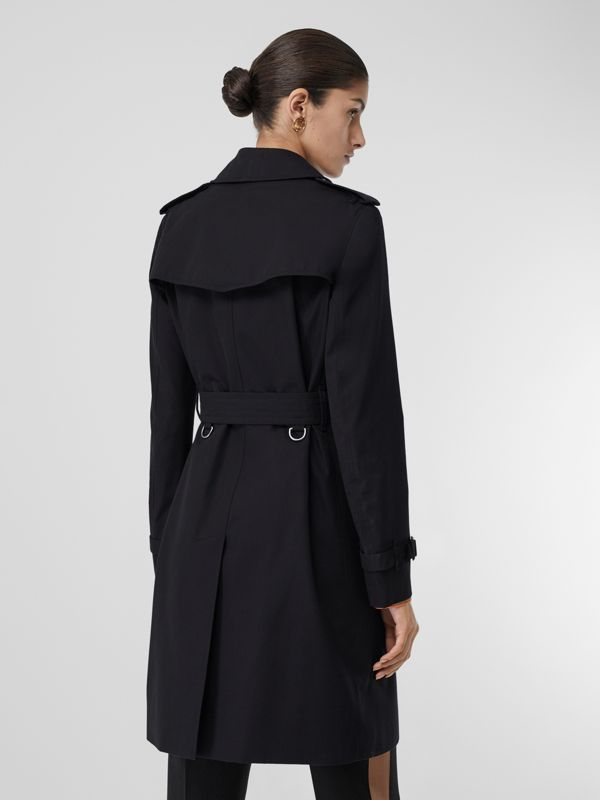 The Kensington Heritage Trench Coat in Midnight - Women | Burberry - cell image 2