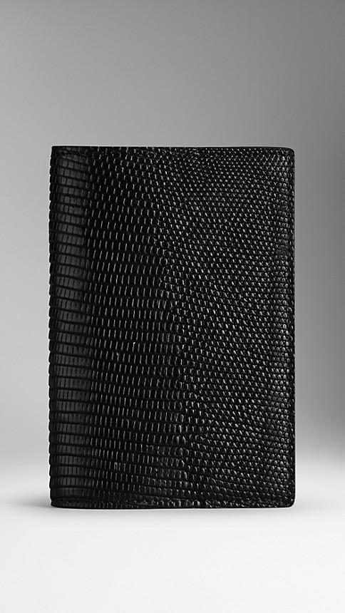 Black Lizard Passport Cover - Image 1