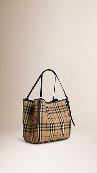 Petit sac The Canter avec motif Horseferry check