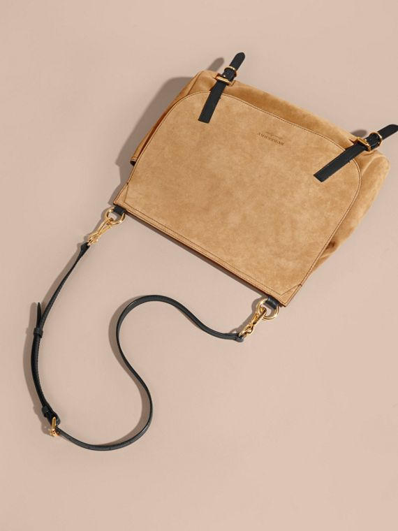 The Medium Bridle in Suede - cell image 3