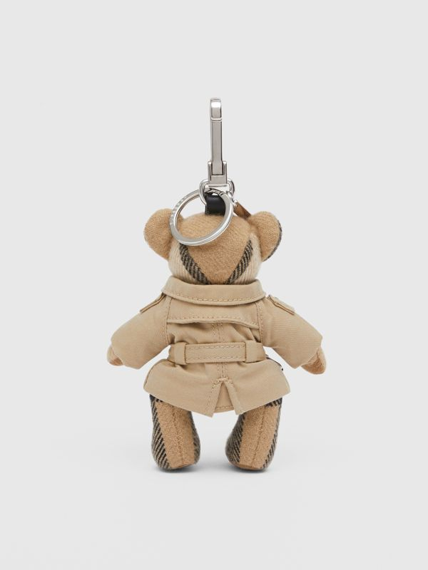 Thomas Bear Charm in Trench Coat in Archive Beige - Women | Burberry - cell image 3