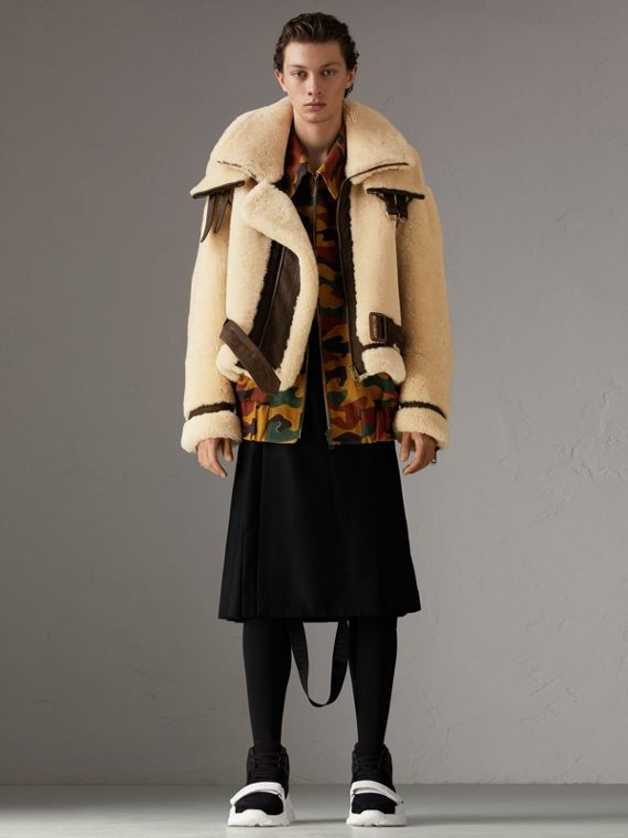 Reissued 2010 Shearling Aviator in Sand