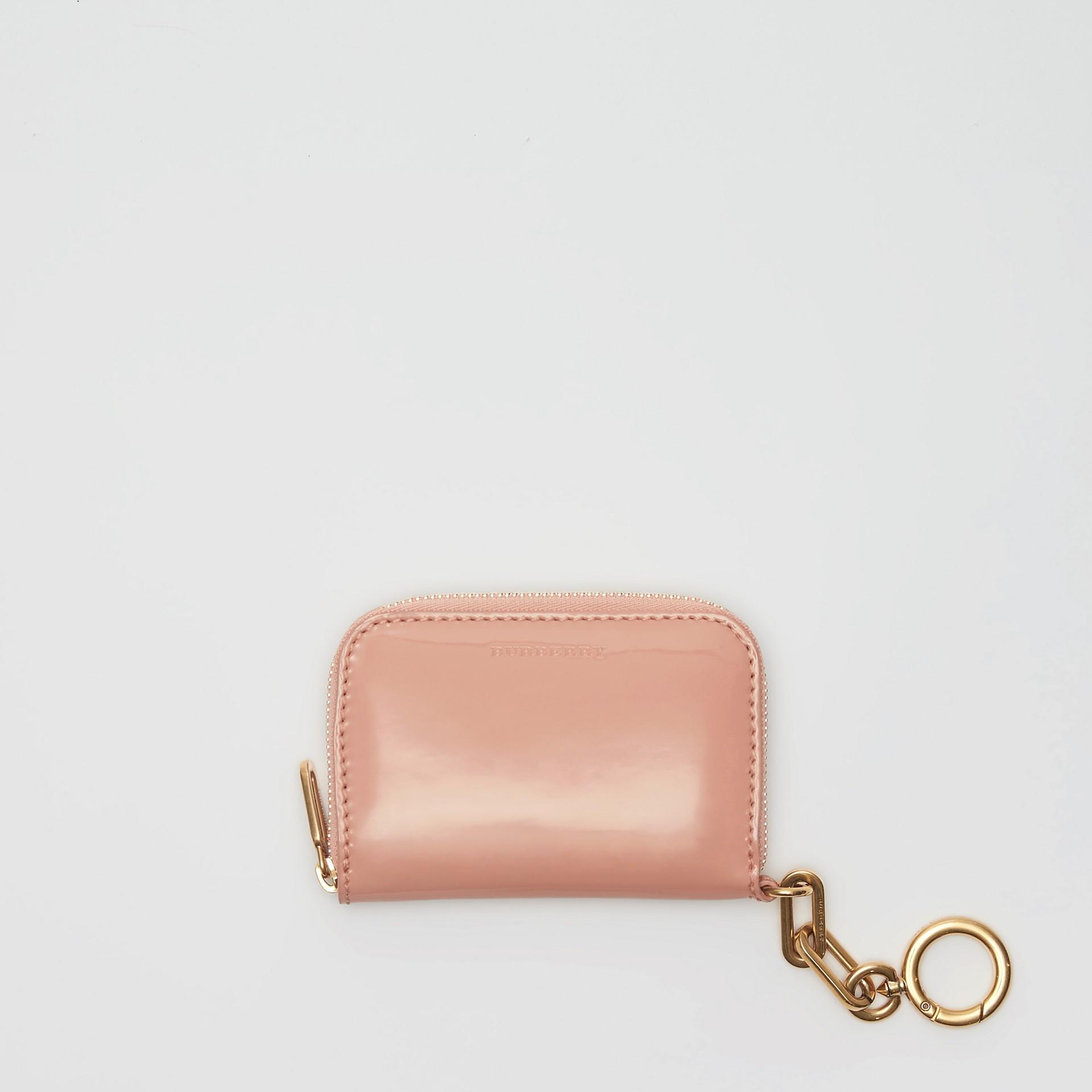 Кожаный бумажник из кожи с цепочкой (Бледный Бежево-розовый) - Для женщин | Burberry - изображение 2
