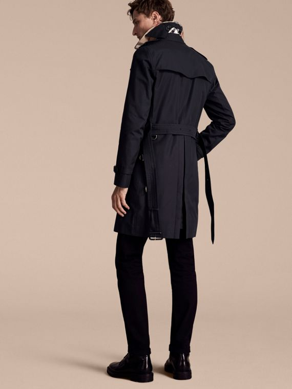Navy The Sandringham – Long Heritage Trench Coat Navy - cell image 2