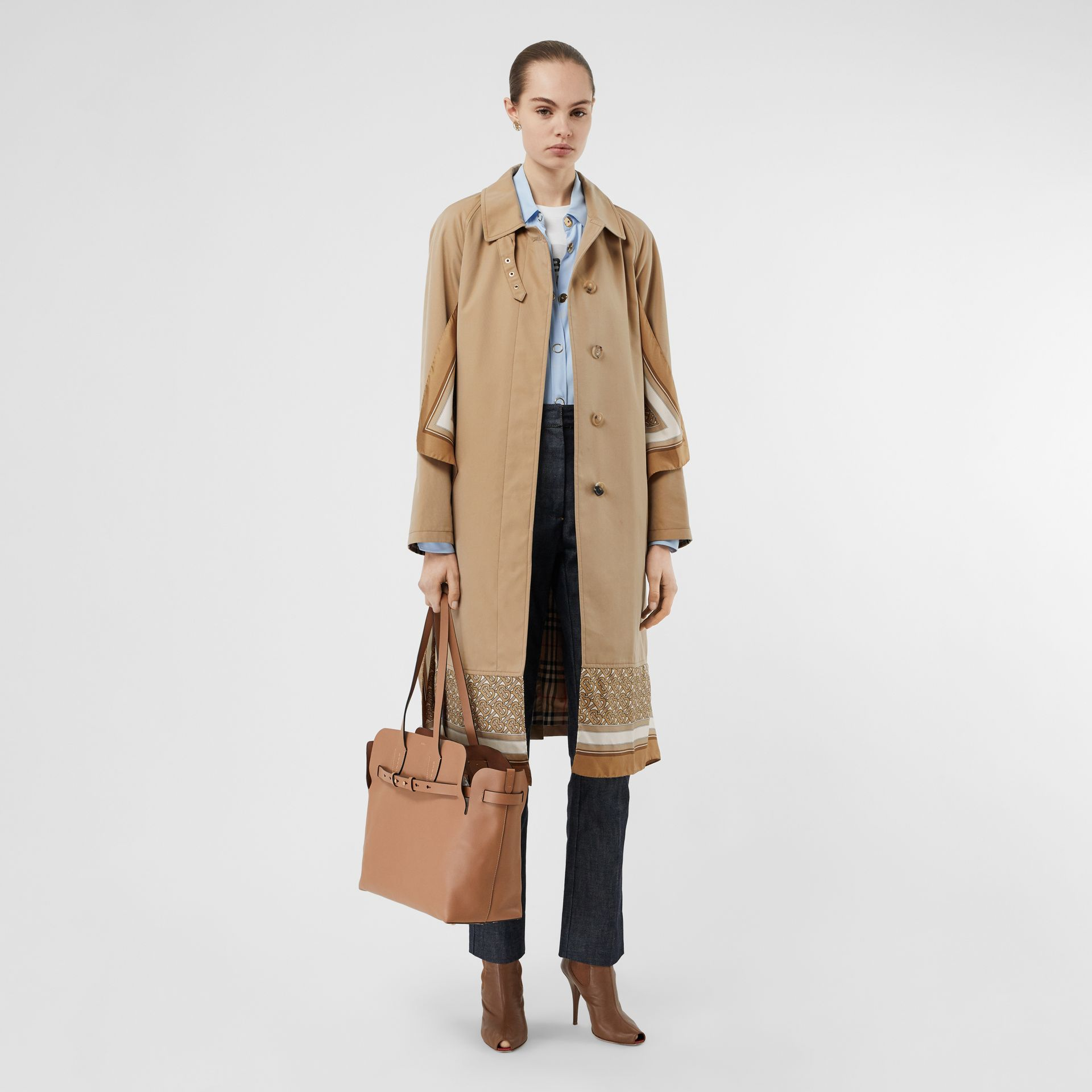 Sac The Belt moyen en cuir doux (Camel Clair) - Femme | Burberry - photo de la galerie 5