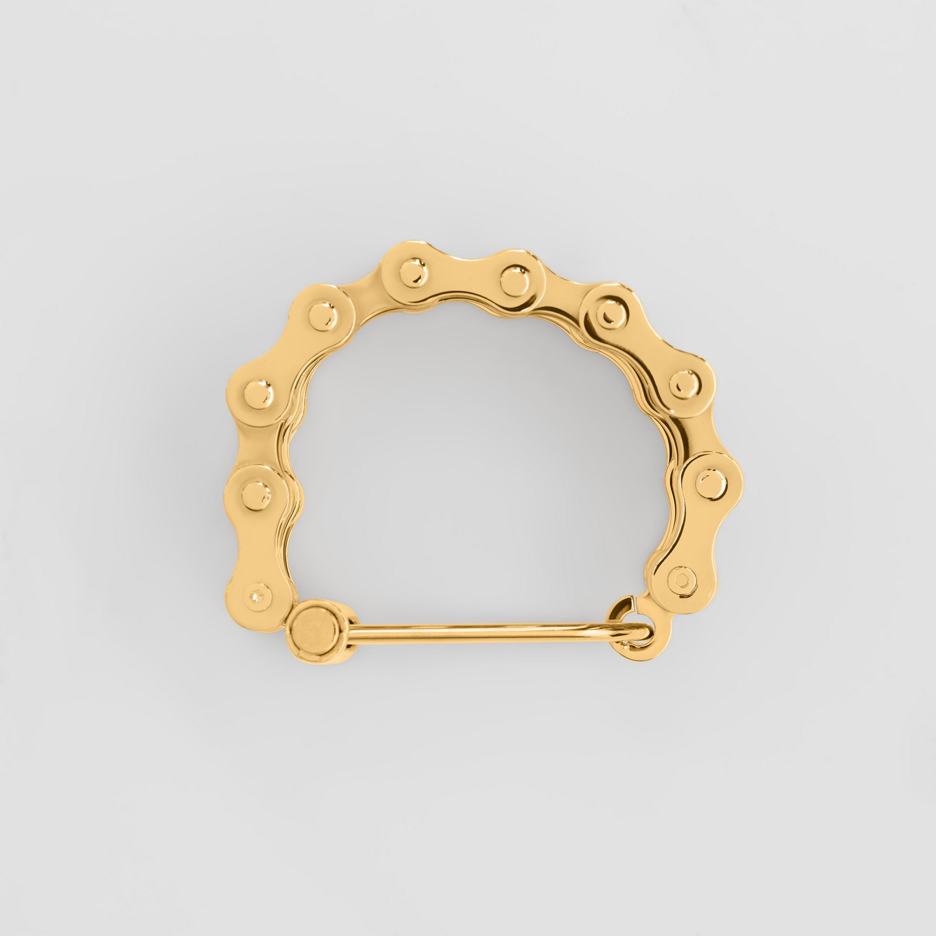 Bicycle Chain Gold-plated Bracelet in Light - Women | Burberry United Kingdom - gallery image 0