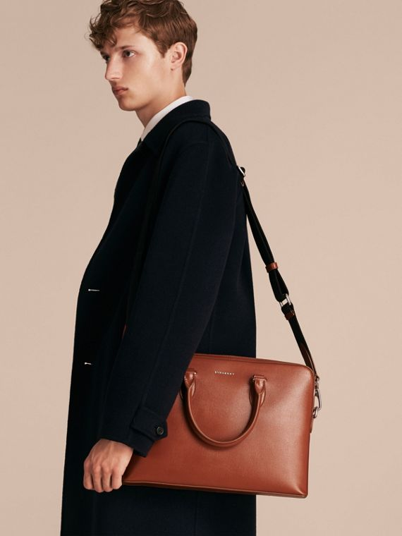 The Slim Barrow in London Leather in Burnt Sienna - cell image 2